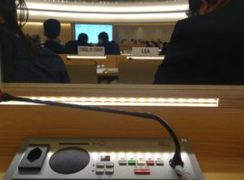 HRC37 Intervention on Saudi Arabia's Use of Counterterror laws against HRDs