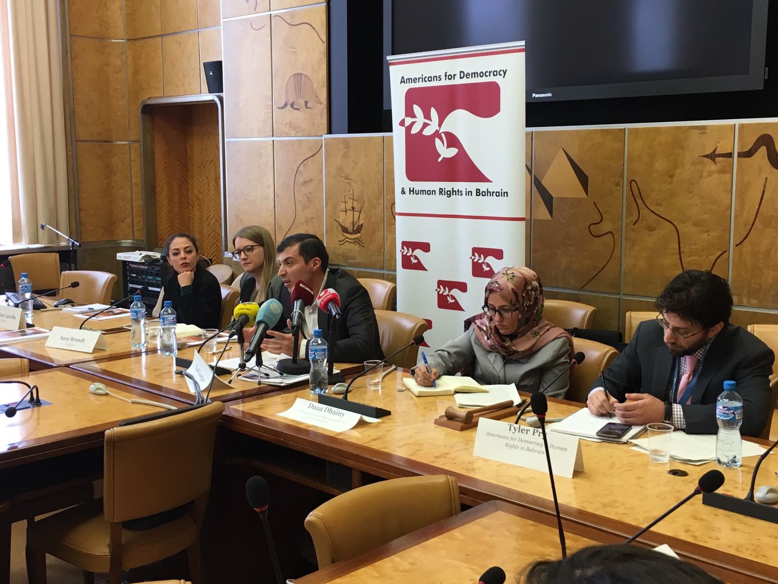 HRC37 Saudi Arabia Side Event: Persecution of Activists in