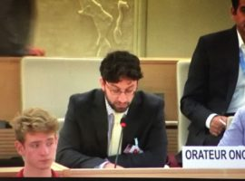 HRC38 Oral Intervention: Item 2 GD – Saudi Arabia's arrest of WHRDs