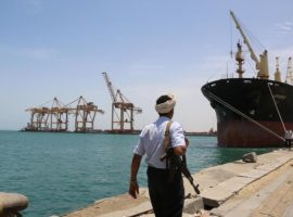 ADHRB Condemns Attack on Yemeni Port, Deepening of Humanitarian Crisis