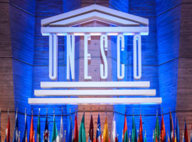 Mandatory Credit: Photo by Christophe Petit Tesson/Epa/REX/Shutterstock (8452196a) View of the Unesco's Great Conference Room During the 38th Session of the United Nations Educational Scientific and Cultural Organization (unesco) General Conference at the Unesco Headquarters in Paris France 09 November 2015 the 38th Session of the Unesco General Conference Runs From 03 to 18 November 2015 France Paris France Unesco Bolivia - Nov 2015