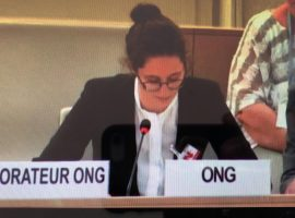 ADHRB at HRC39 calls for Hassan Mushaima's release and an investigation into Jau water cuts