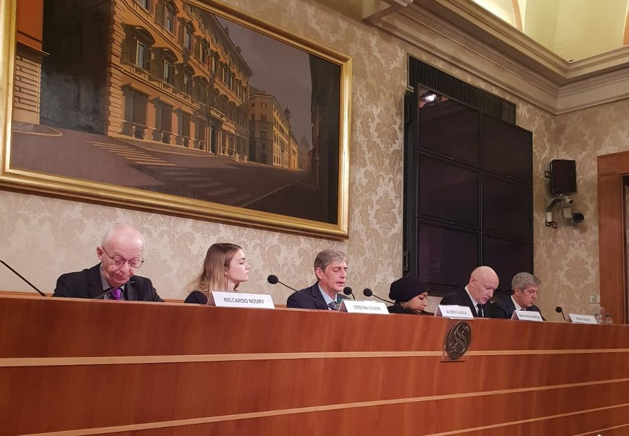 """ADHRB Event at the Italian Senate: """"8 Years Later Bahrain is"""