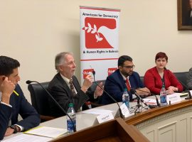 "ADHRB Briefing on Capitol Hill: ""Promoting a Human Rights-centric Approach to US Policies Towards Bahrain"""