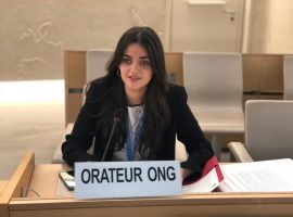 ADHRB at HRC40 calls attention to political prisoners in Bahrain