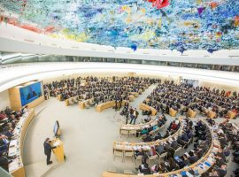ADHRB at HRC40 highlights torture against minors in Bahraini prisons