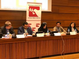 ADHRB Panel Event at HRC40 – Torture in Bahrain
