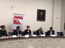 "ADHRB Briefing on Capitol Hill: ""Systematic Rights Violations in Yemen: Assessing the United States' Role and Seeking Accountability"""