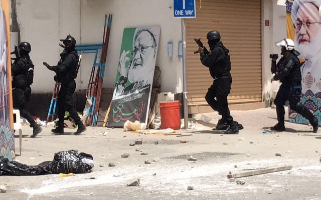 Two Years Ago Bahrain Police Violently Cracked Down on a Peaceful Sit-In in Duraz, Killing 5