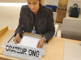 ADHRB at the Human Rights Council Raised Concerns on The Issue of Elderly Women's Economic Rights